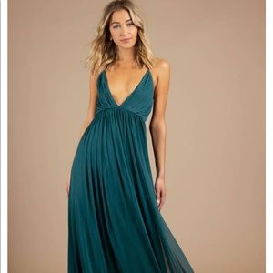Tobi formal emerald dress